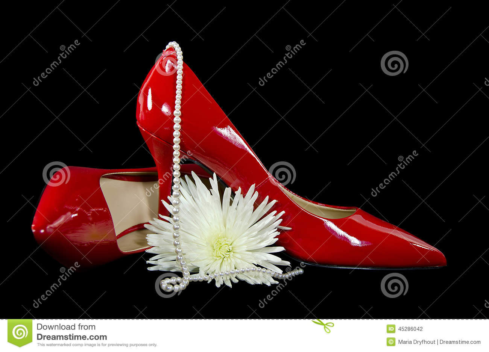 Red Shiny Heels