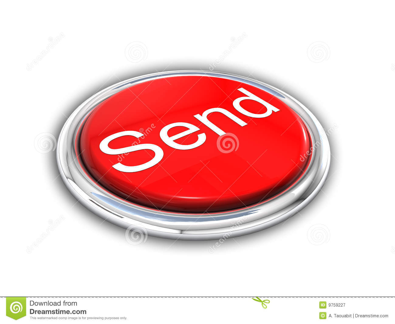pushing the send button stock photo image 12759290