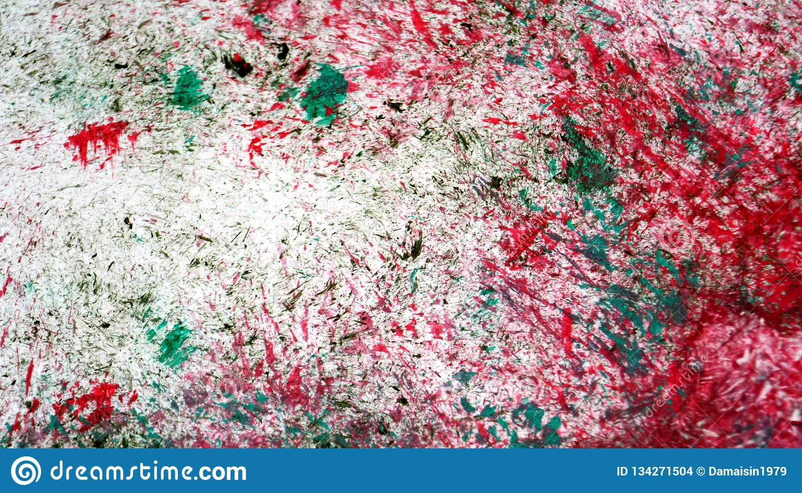 Red silver green mix soft contrasts, paint watercolor background, abstract painting watercolor background