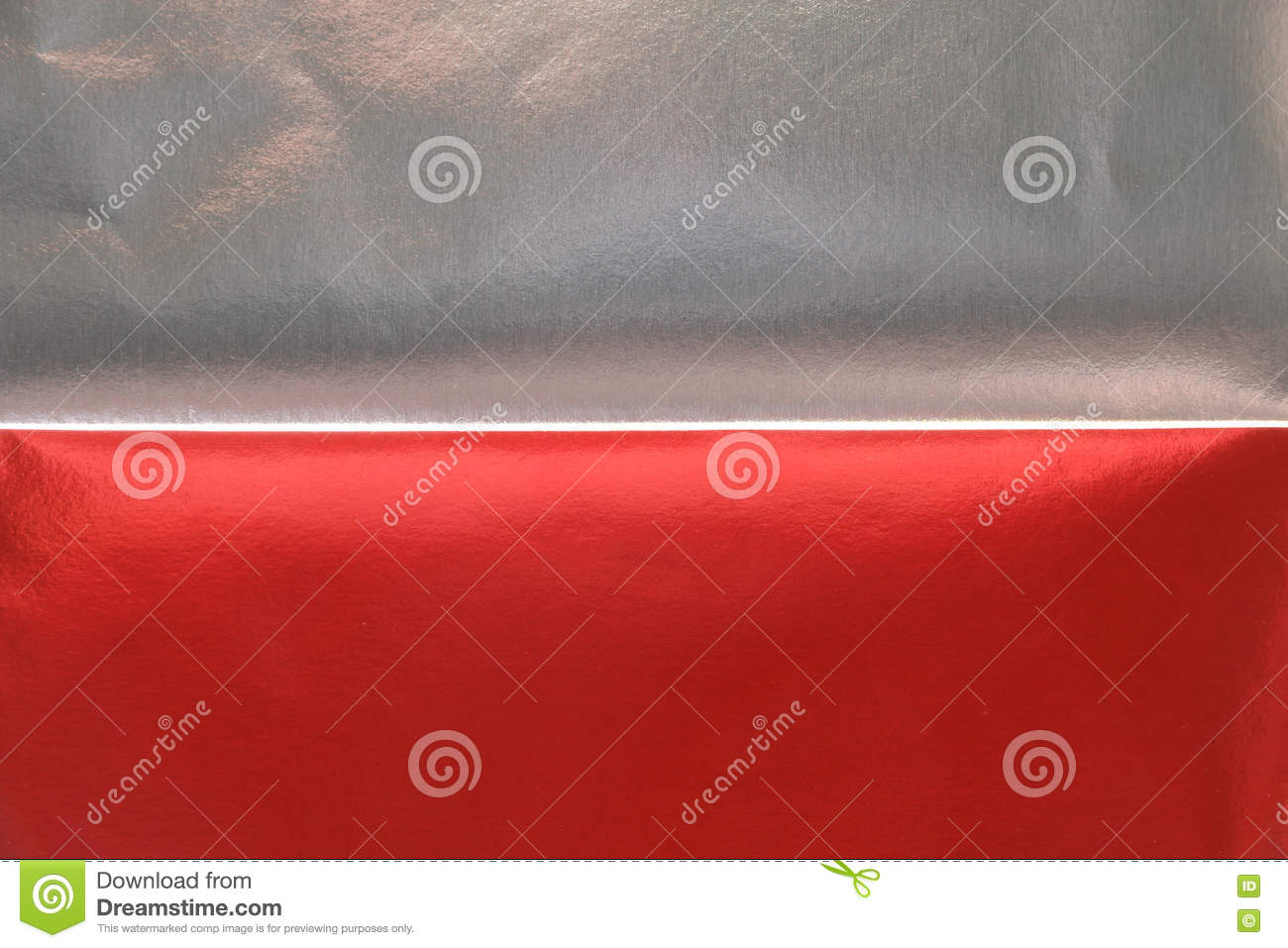 Red Silver Metallic Paper Texture Background Stock Image ...