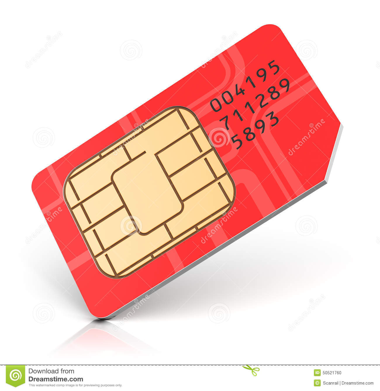 how to read a sim card