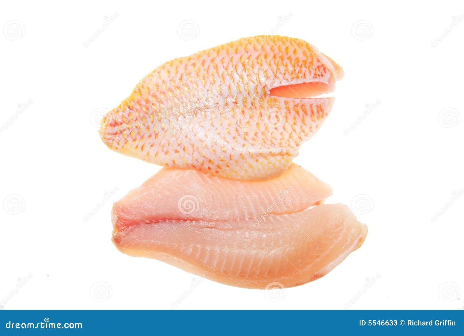 Red snapper fillets stock image image of fillet meat for Red fish fillet