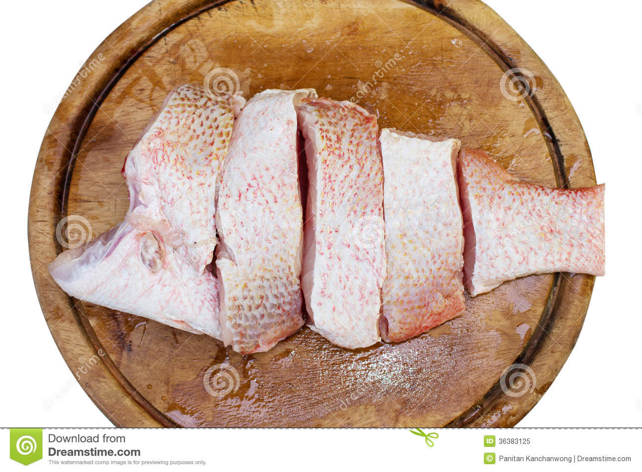 Red snapper fish fillet royalty free stock photo image for Red fish fillet