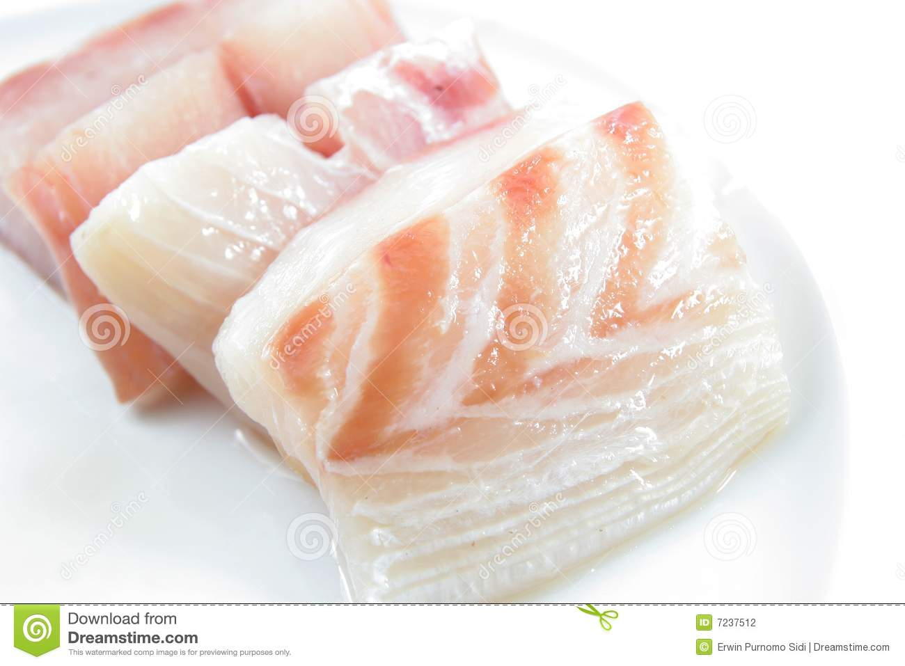 Red snapper fish meat stock photography image 7237512 for Is fish meat