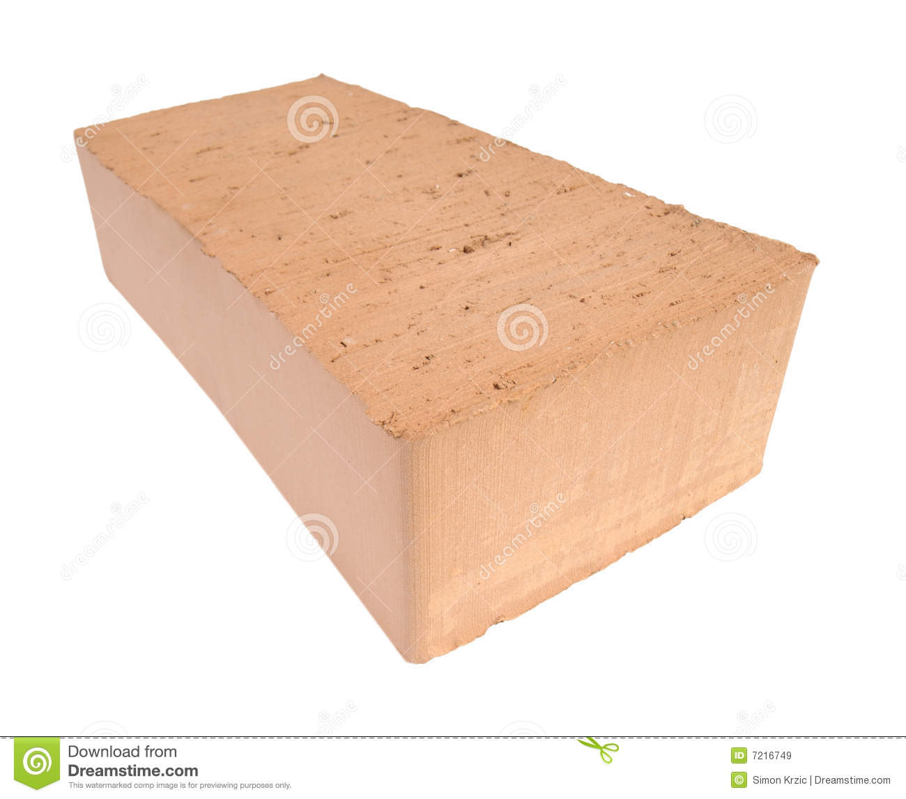 Solid Clay Brick: Red Solid Brick Royalty Free Stock Images