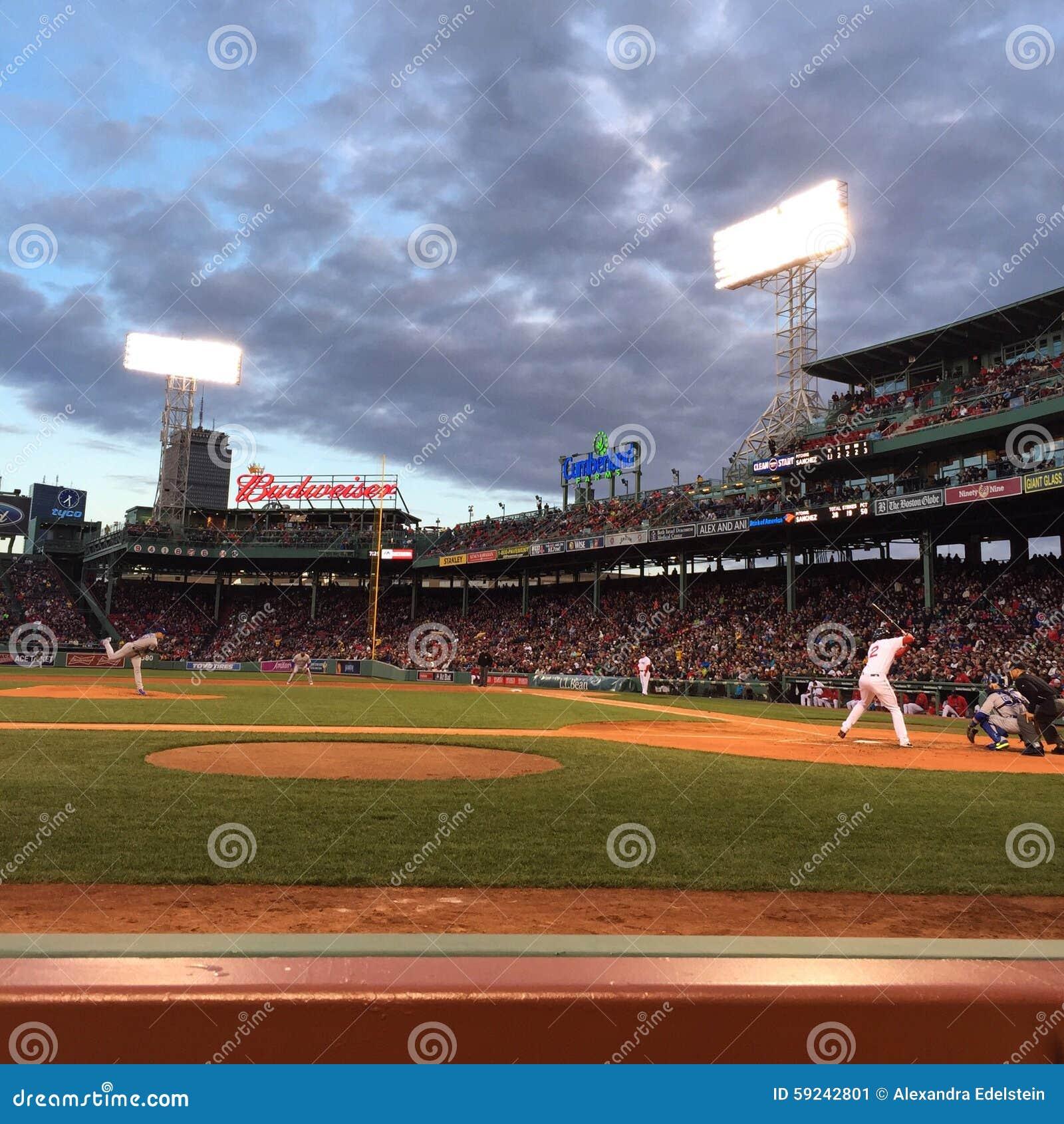 Download Red Sox en Fenway Park foto editorial. Imagen de deportes - 59242801