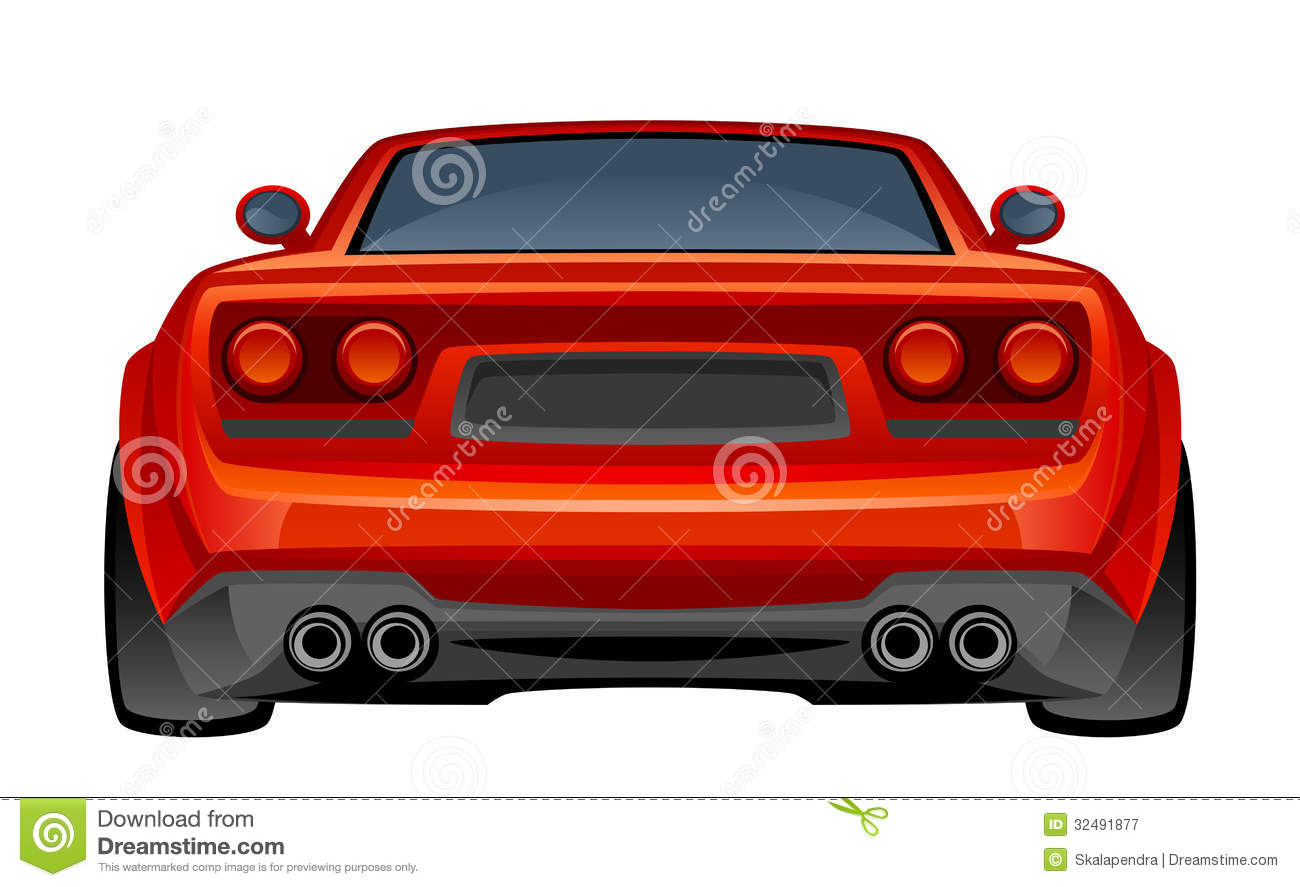 Red sport car royalty free stock photography image 32491877