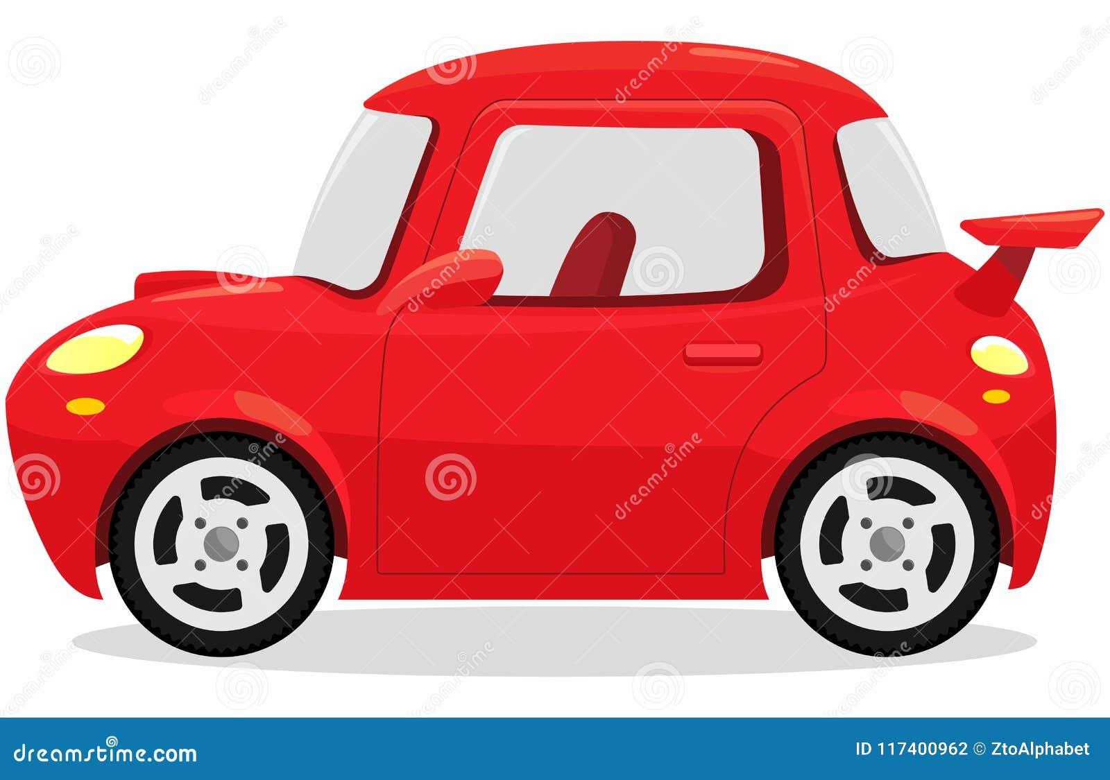 Sports Car Cartoon Concept Stock Vector Illustration Of Automobile