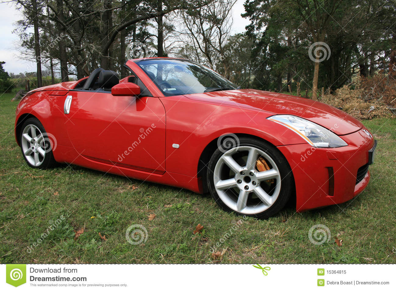 Red Sports Car Stock Image Image Of Convertible Cool 15364815