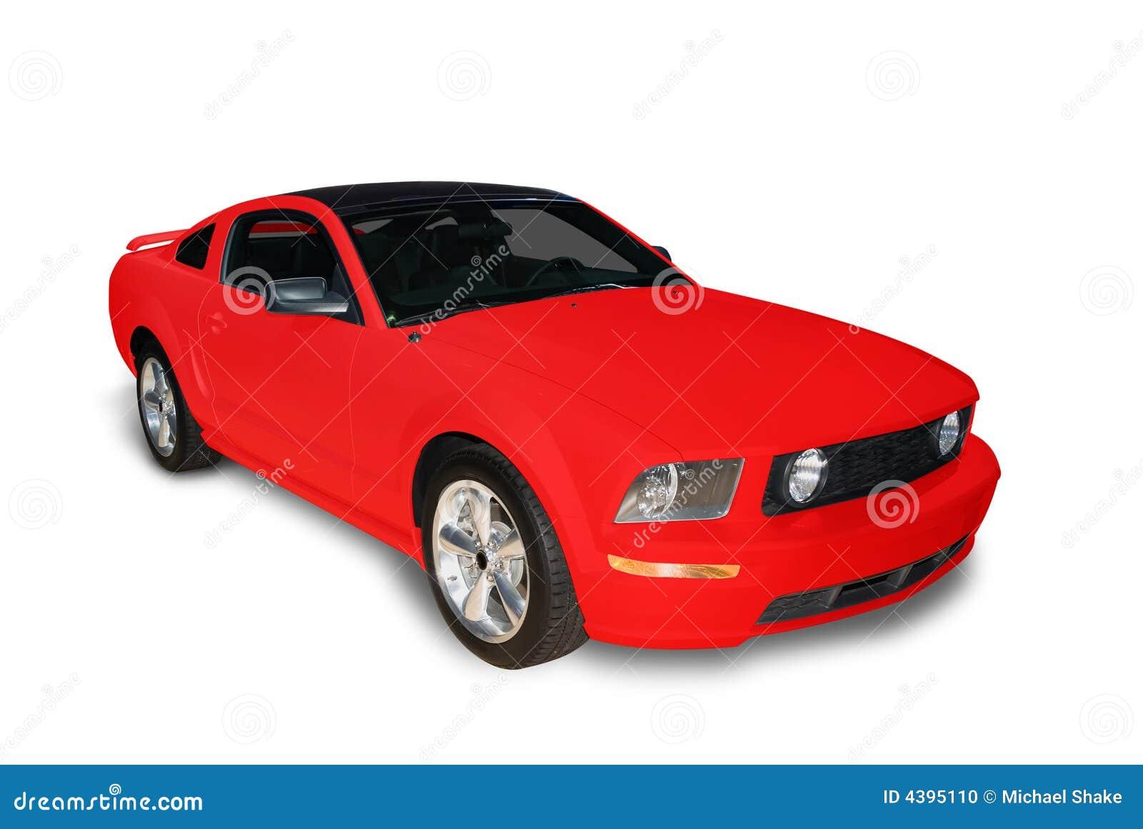 No Credit Check Car Lots >> Red Sports Car Stock Photo - Image: 4395110