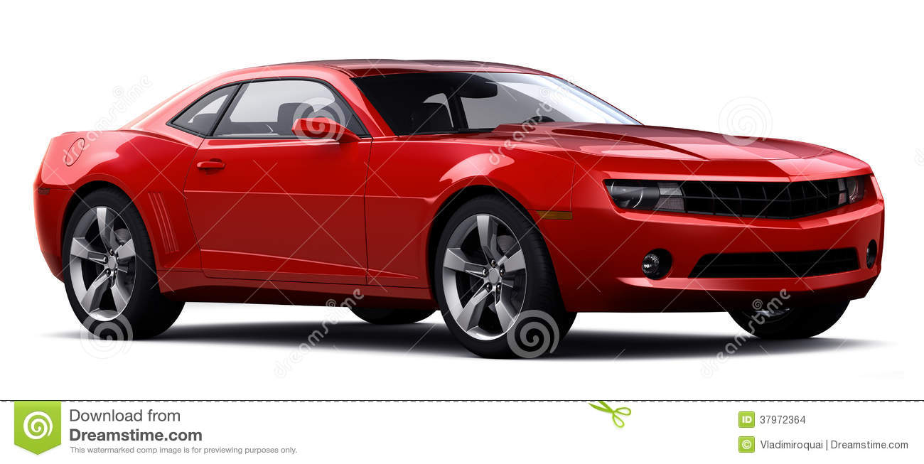 Red Sports Car Stock Images - Image: 37972364