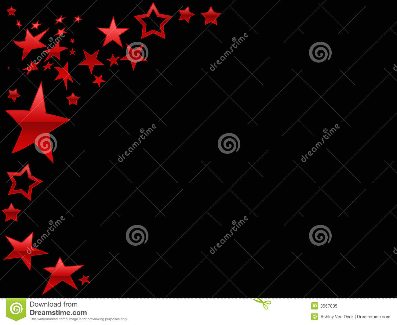 Red star page background stock illustration image of