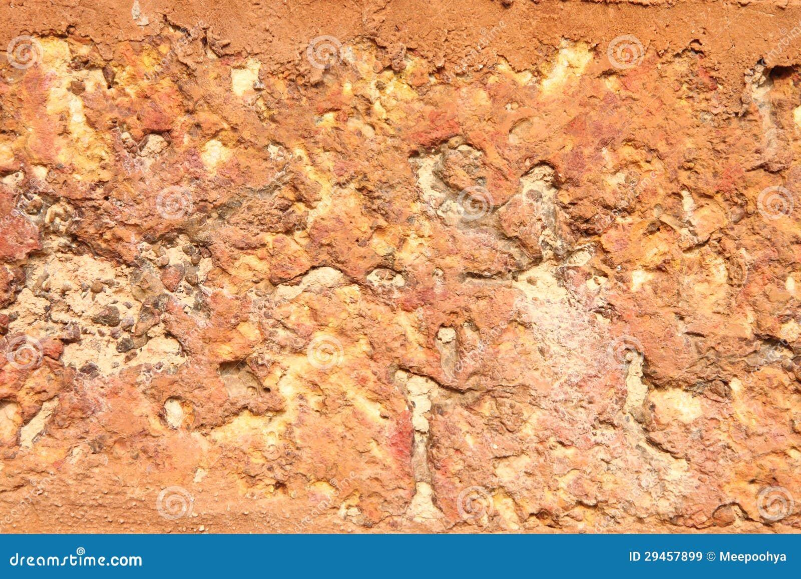 Red Granite Boulder : Red stone boulder royalty free stock images image