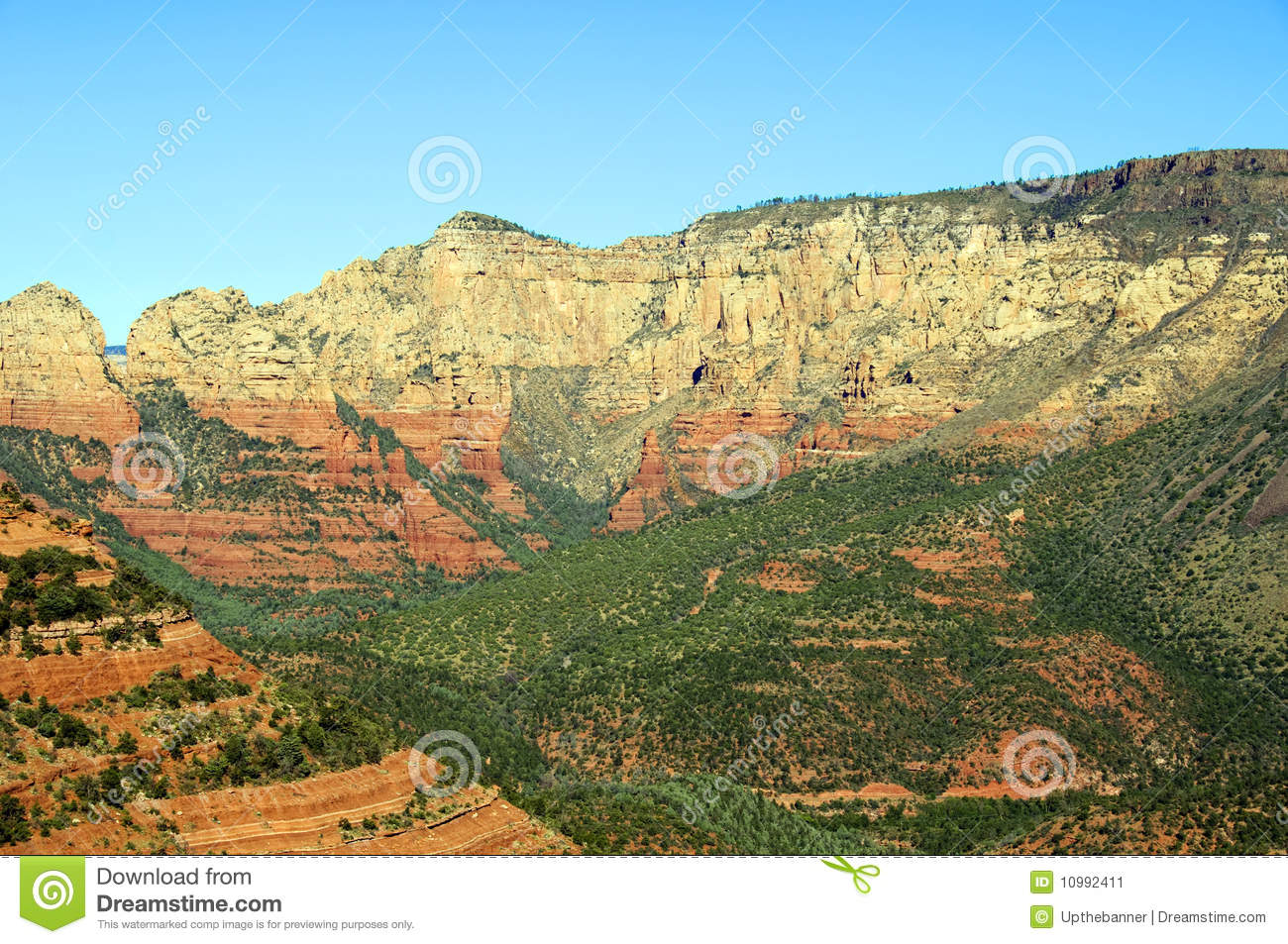 Red stone landscape of sedona in arizona stock image for Red stone landscape rock