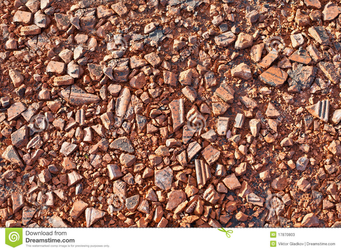 Red Stone Texture : Red stone texture stock image of stony rock small