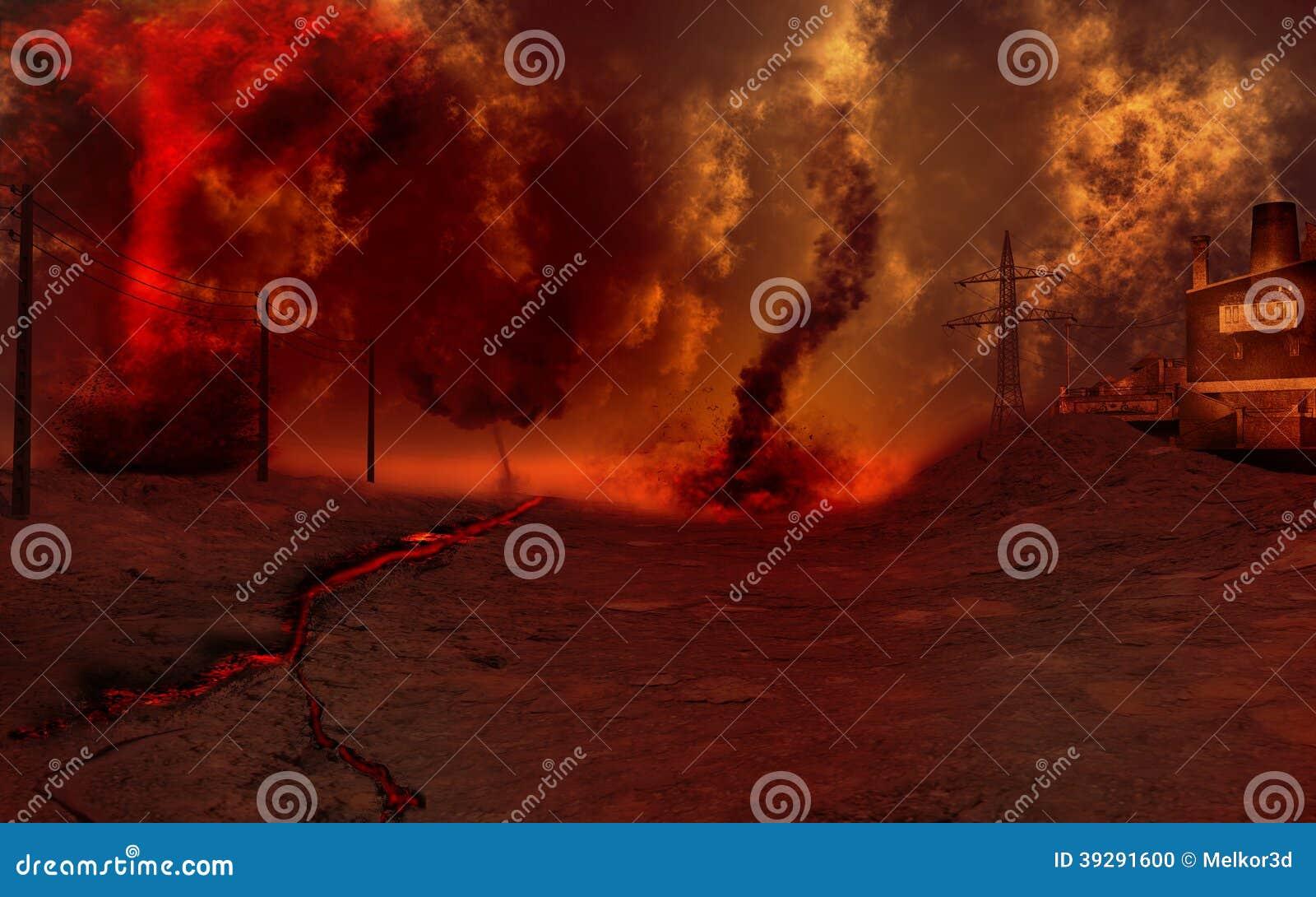 Red Storm Stock Illustration - Image: 39291600