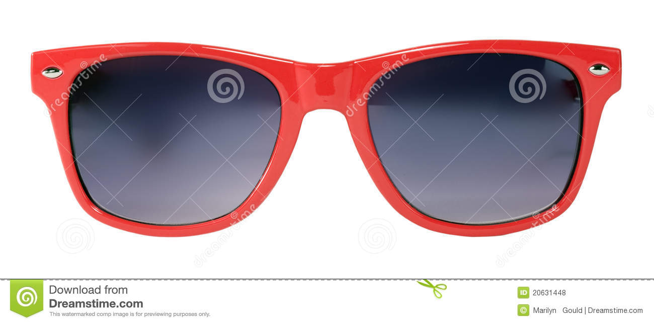 Red Sunglasses Royalty Free Stock Photos