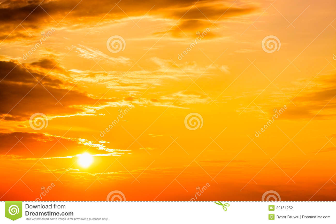 red sunset sunrise sun clouds stock photo image 39151252