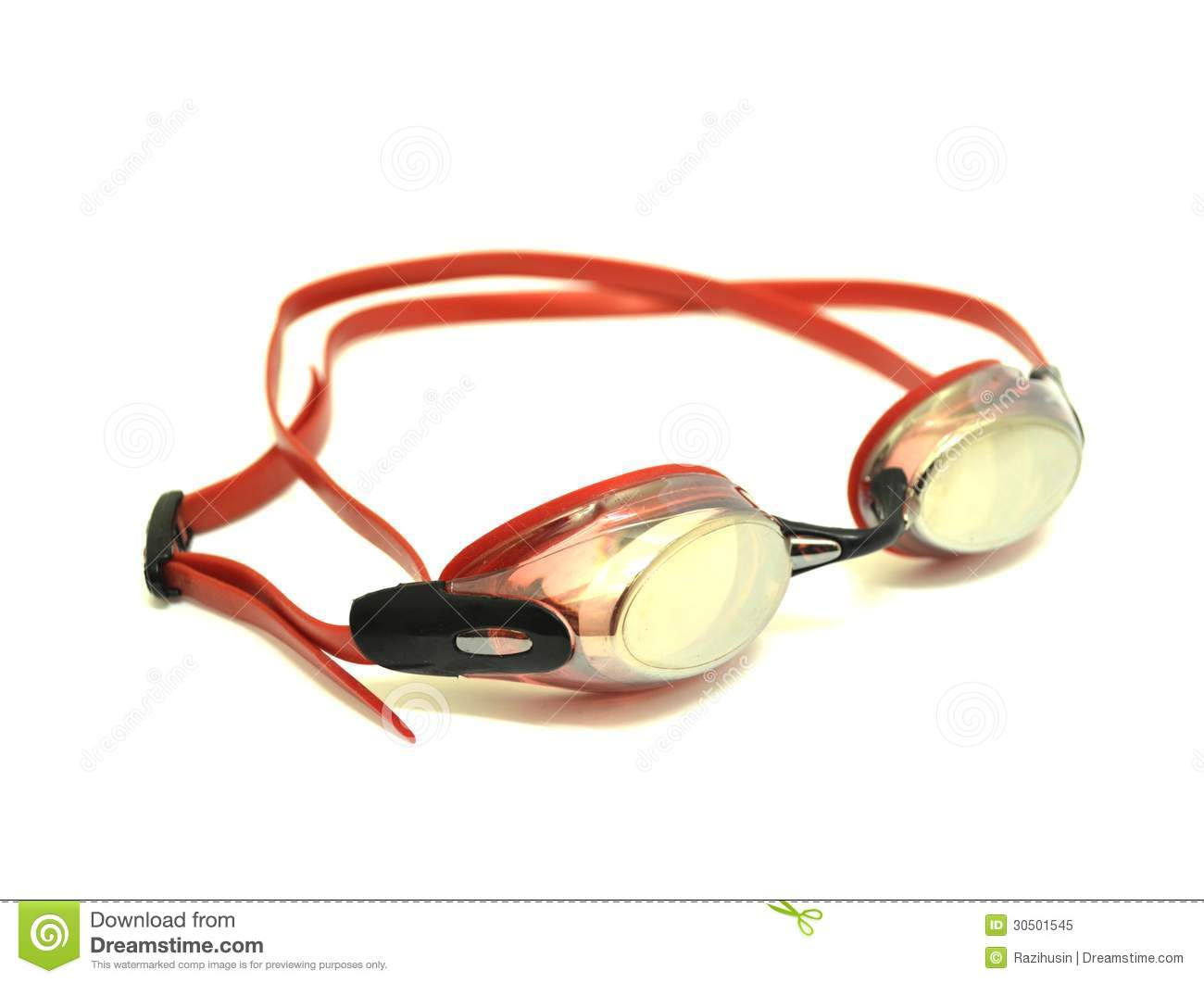 swimming goggles over glasses  Red Swimming Goggles Royalty Free Stock Photo - Image: 30501545