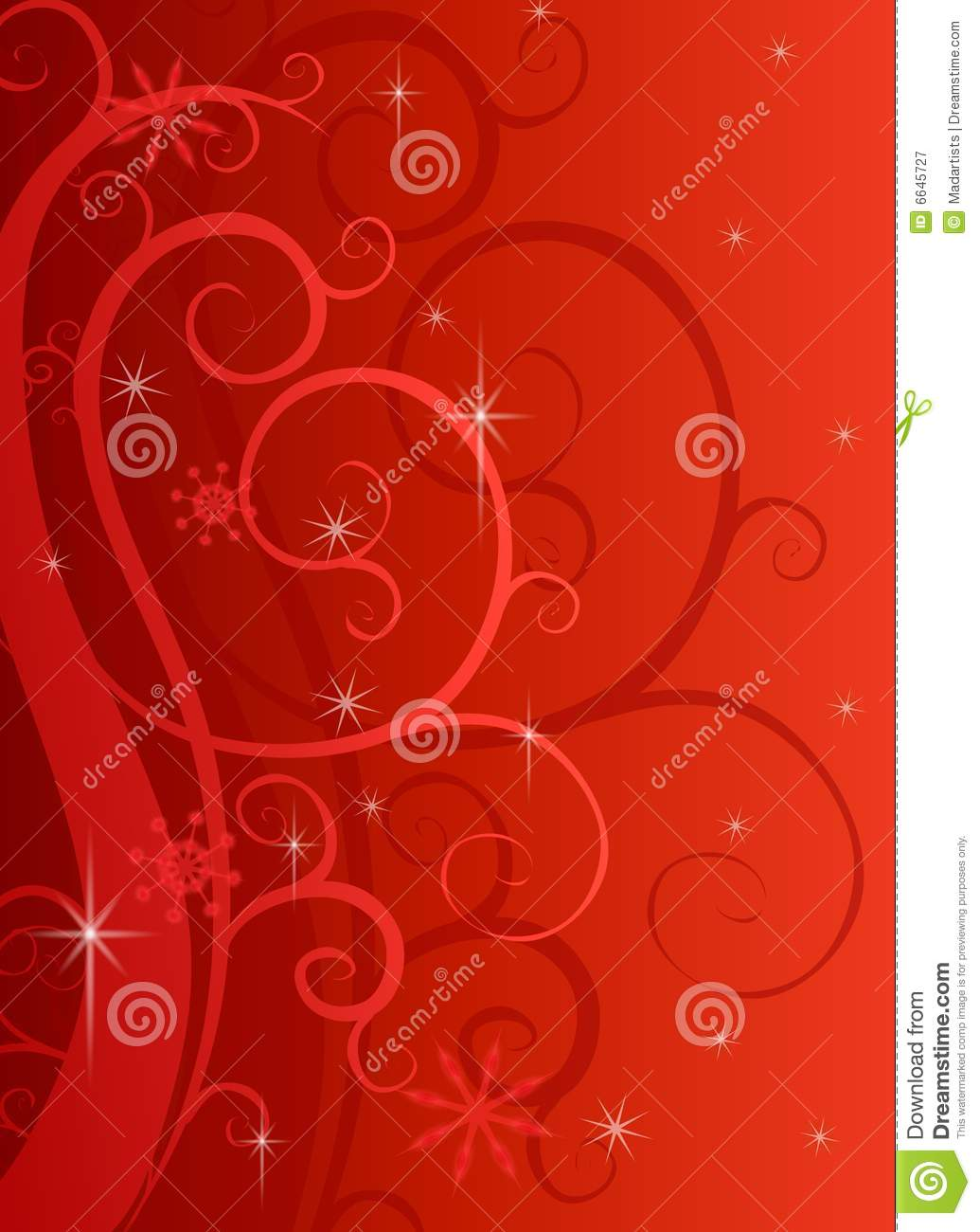 Red Swirls Sparkles Background Royalty Free Stock ...