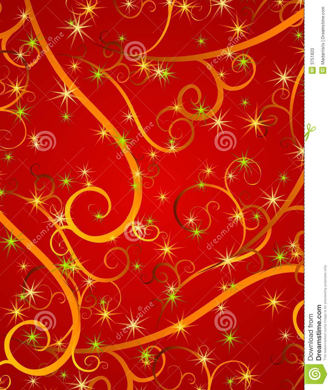 Red gold christmas background for Red with gold