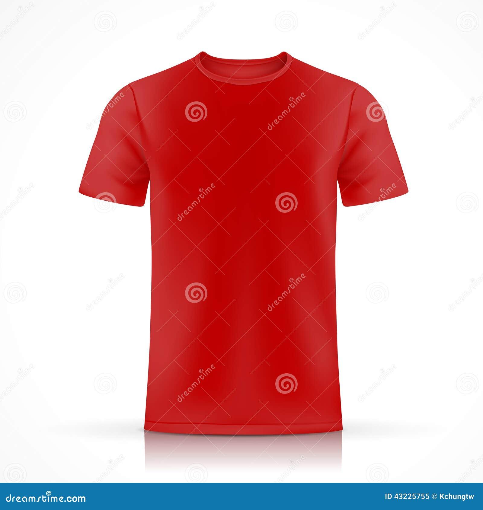 red t shirt template. Black Bedroom Furniture Sets. Home Design Ideas