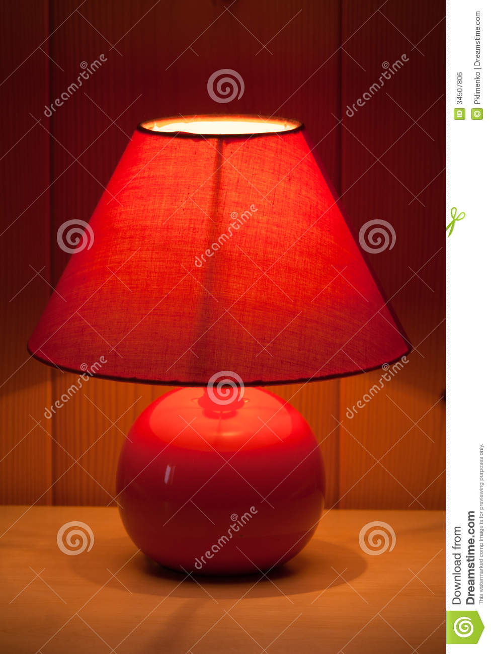 Red table lamp stock photo image of energy hotel macro 34507806 red table lamp aloadofball Gallery