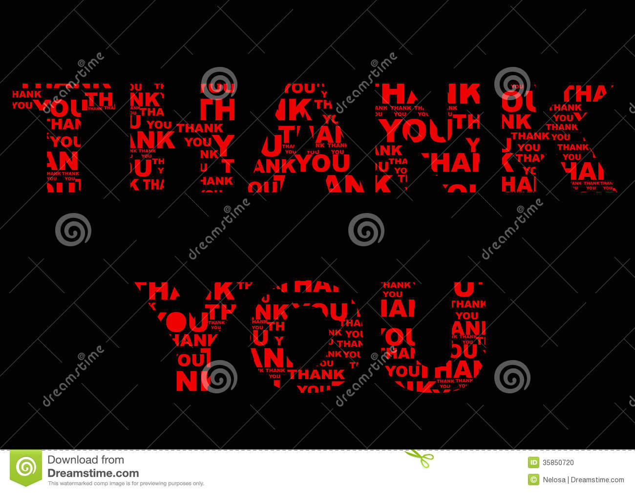 Cool Thank You Backgrounds Red thank you