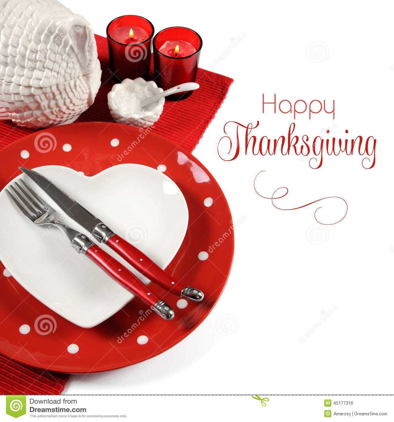 Red Theme Dining Table Place Setting With Sample Text  : red theme dining table place setting sample text happy thanksgiving christmas vintage turkey tureen white background 45177316 from www.dreamstime.com size 1300 x 1390 jpeg 165kB