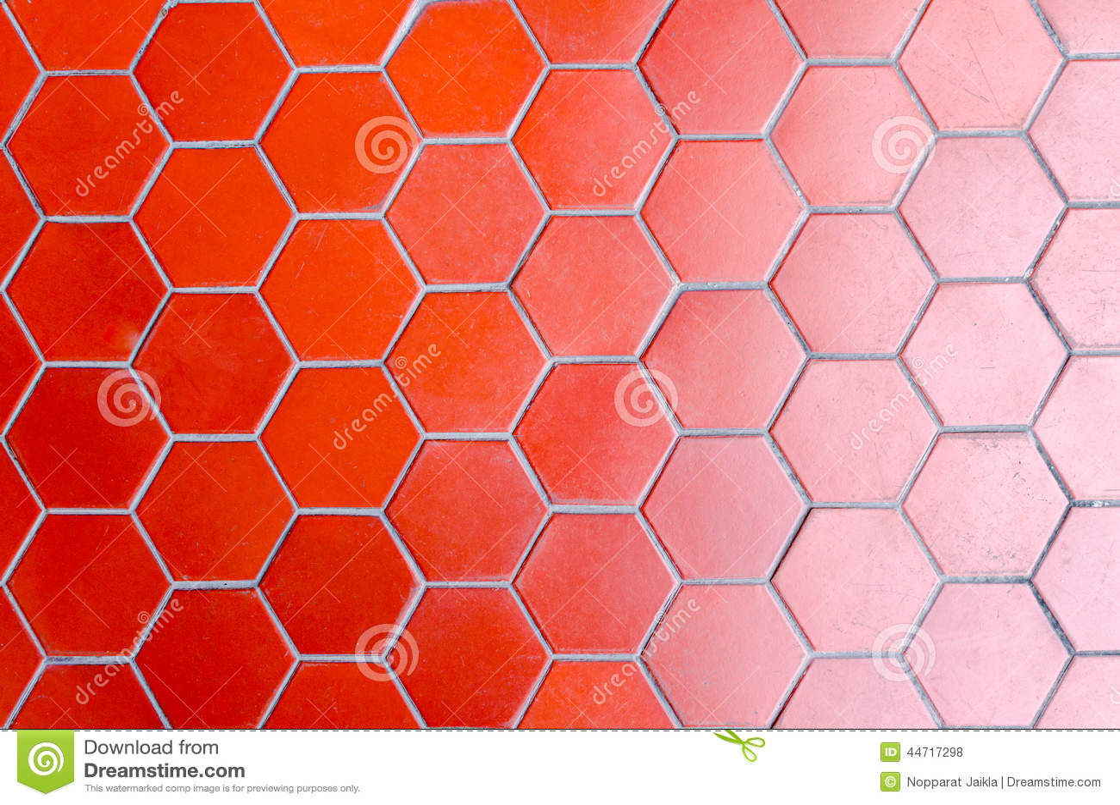 Gradient For Bathroom Floor : Red tile floor gradient two tone stock photo image
