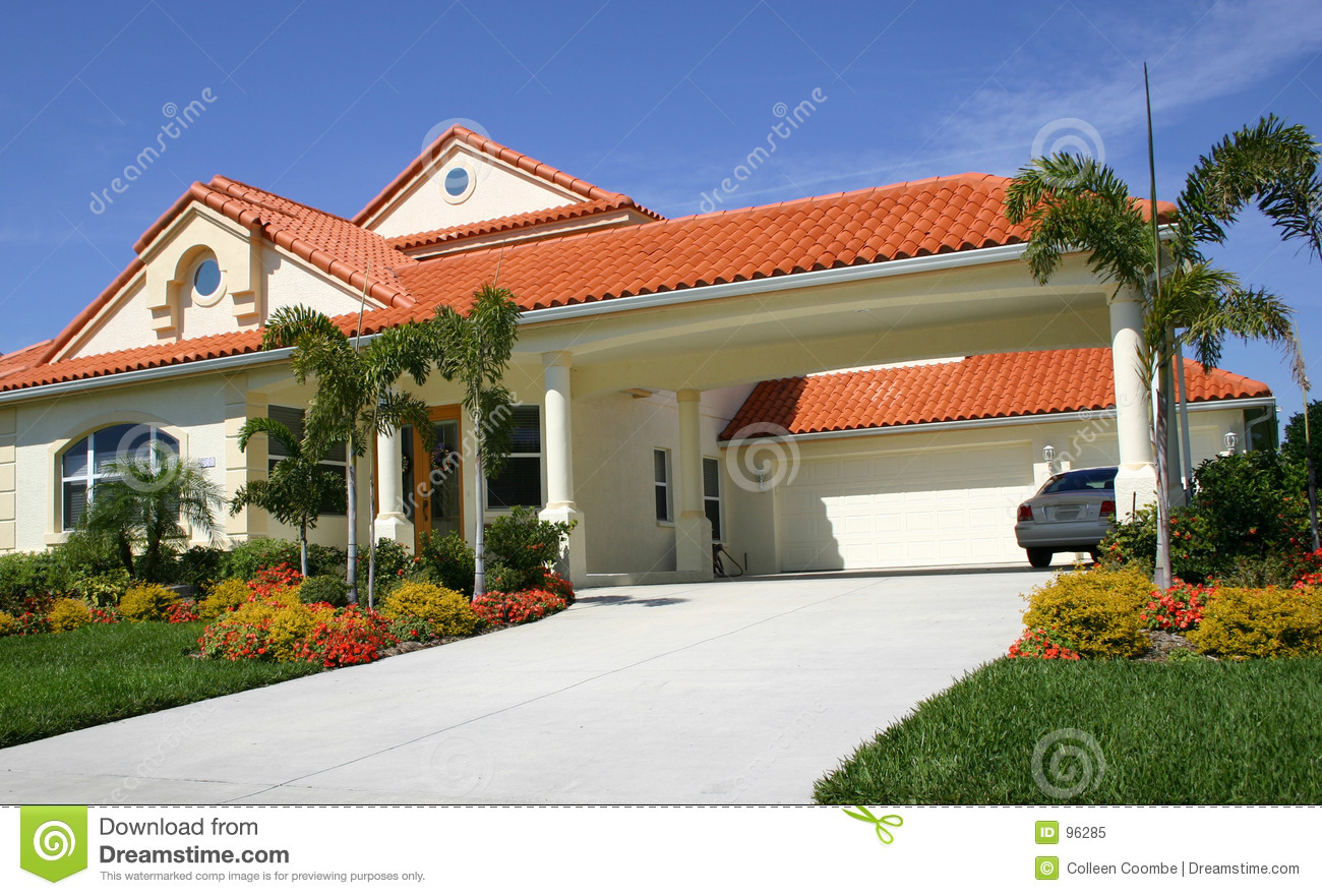 Red Tile Roof Royalty Free Stock Photo Image 96285