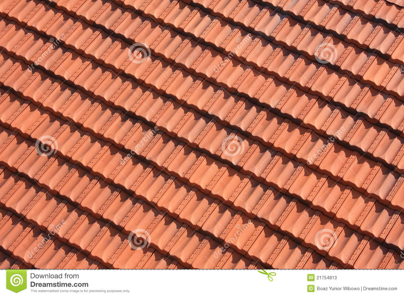 Red tile roof pattern stock image image of detail rough for Roof tile patterns