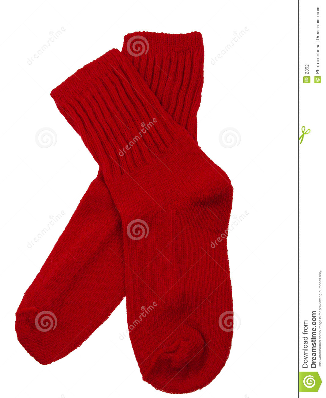 Red Toddler Socks