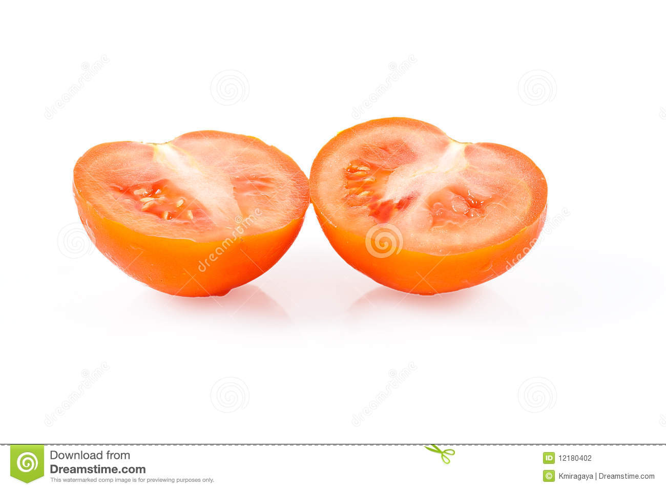 Red Tomato Halves Stock Photography - Image: 12180402