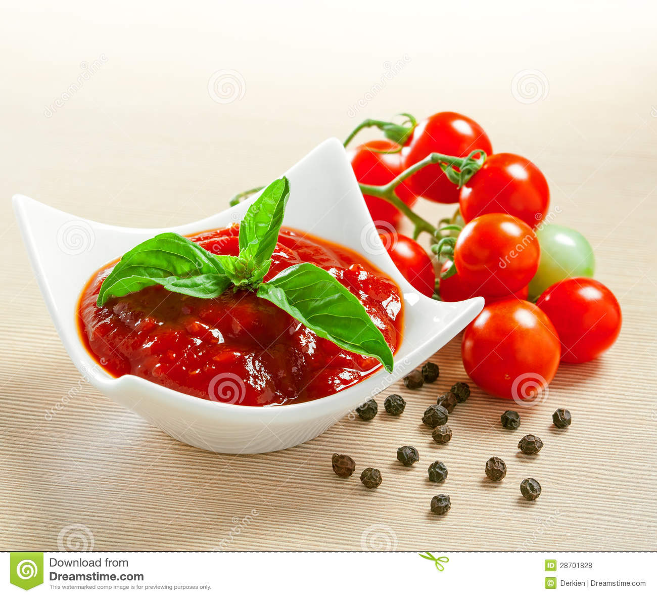 Red Tomato Sauce Royalty Free Stock Photos - Image: 28701828