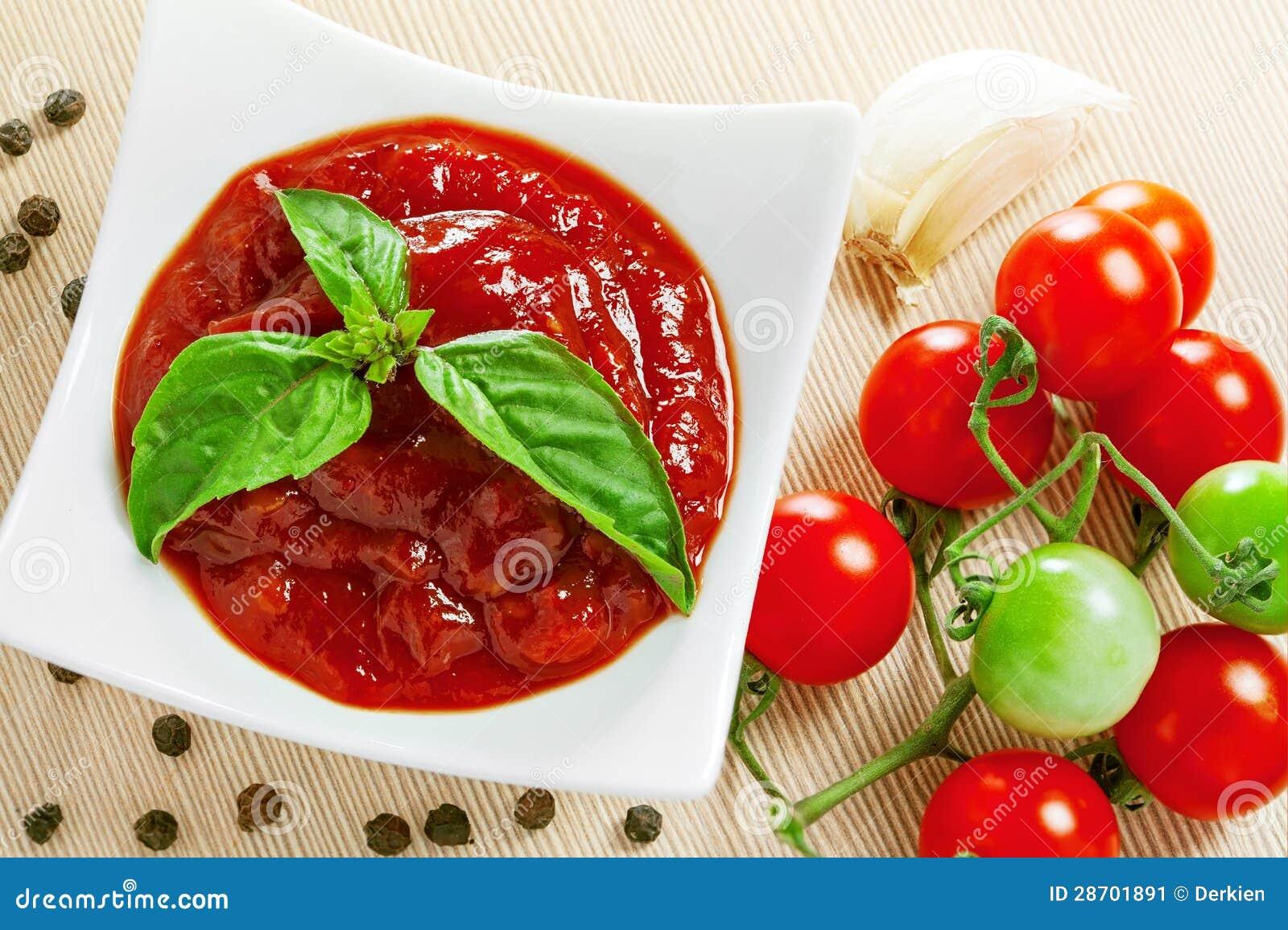 Red Tomato Sauce Stock Image - Image: 28701891