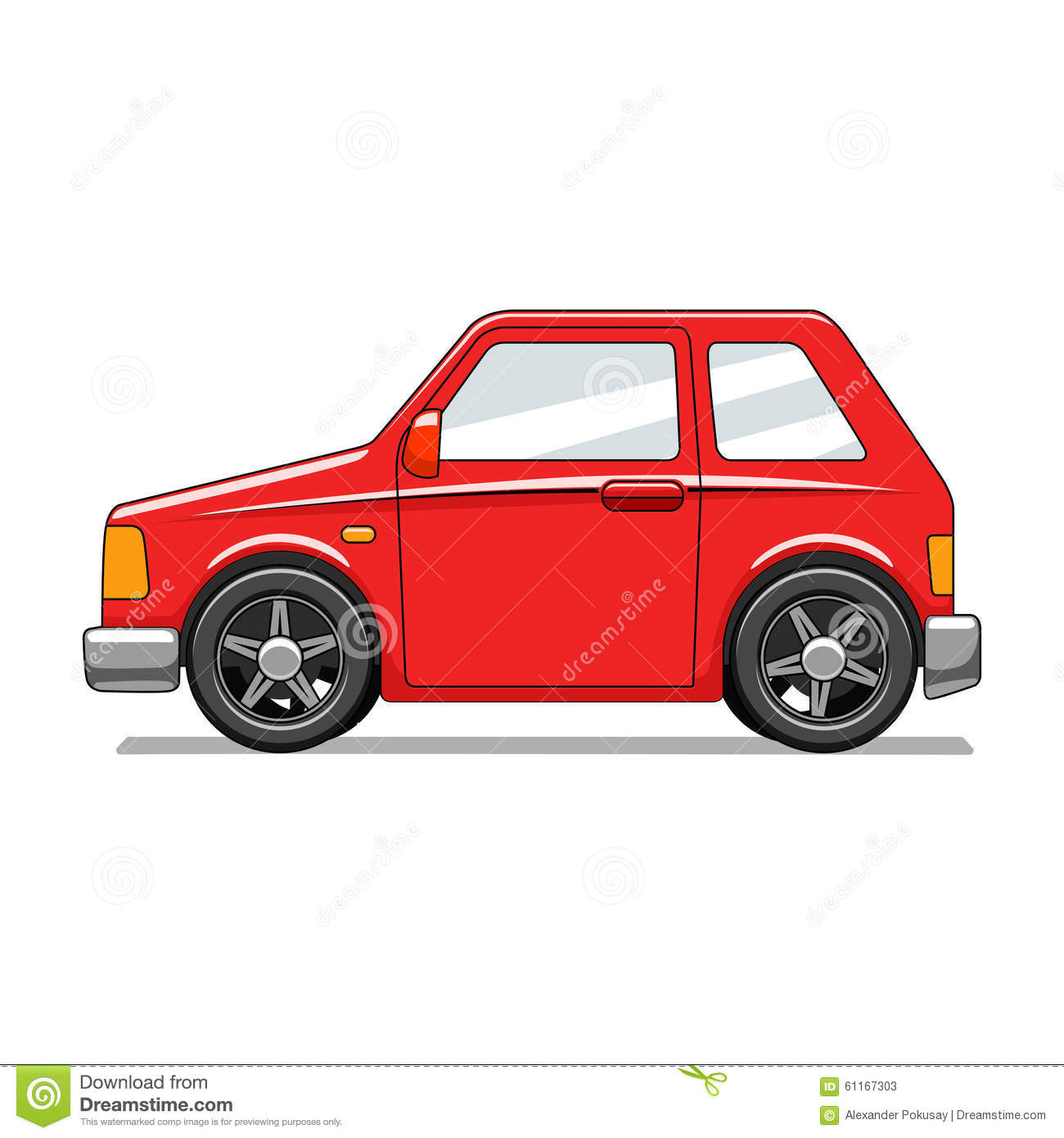 red toy car vector illustration stock vector illustration of draw