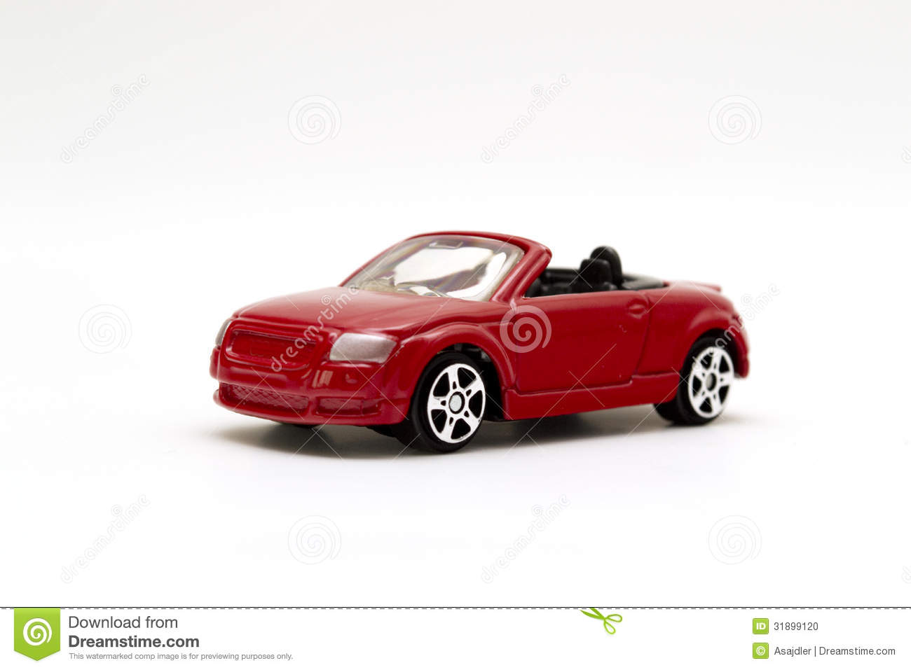 Red Toy Sports Car Stock Photo - Image: 31899120
