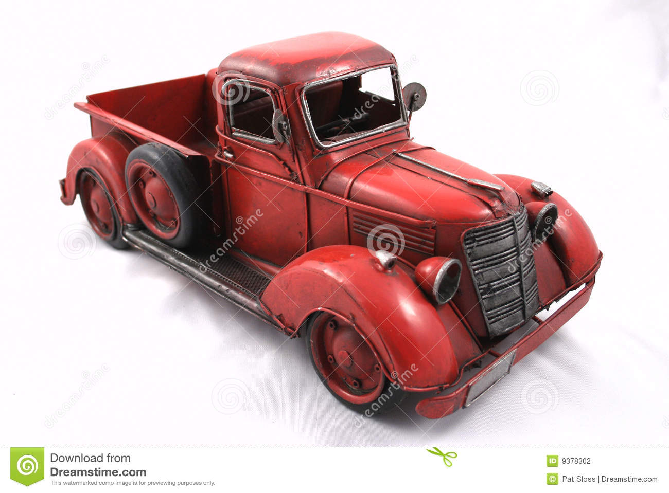 Red Toy Truck Stock Photography Image 9378302