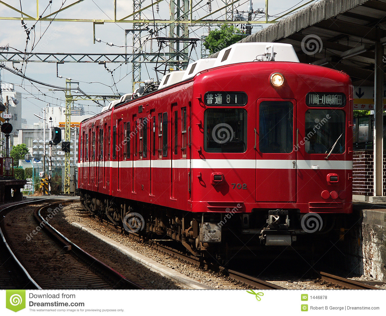 red train kawasaki japan royalty free stock photos image cityscape clip art comic cityscape clip art images