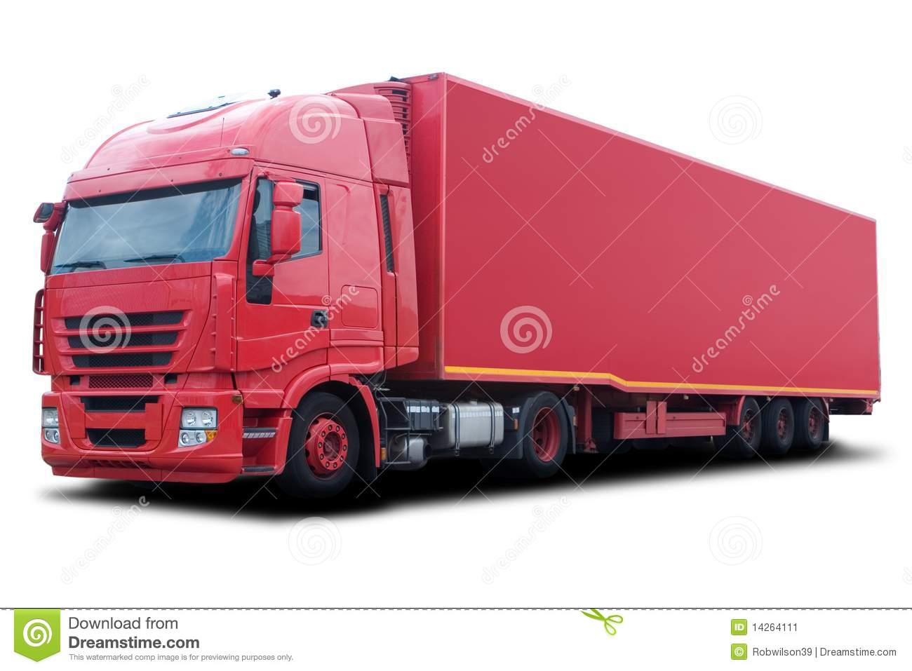 Red Truck Stock Image - Image: 14264111