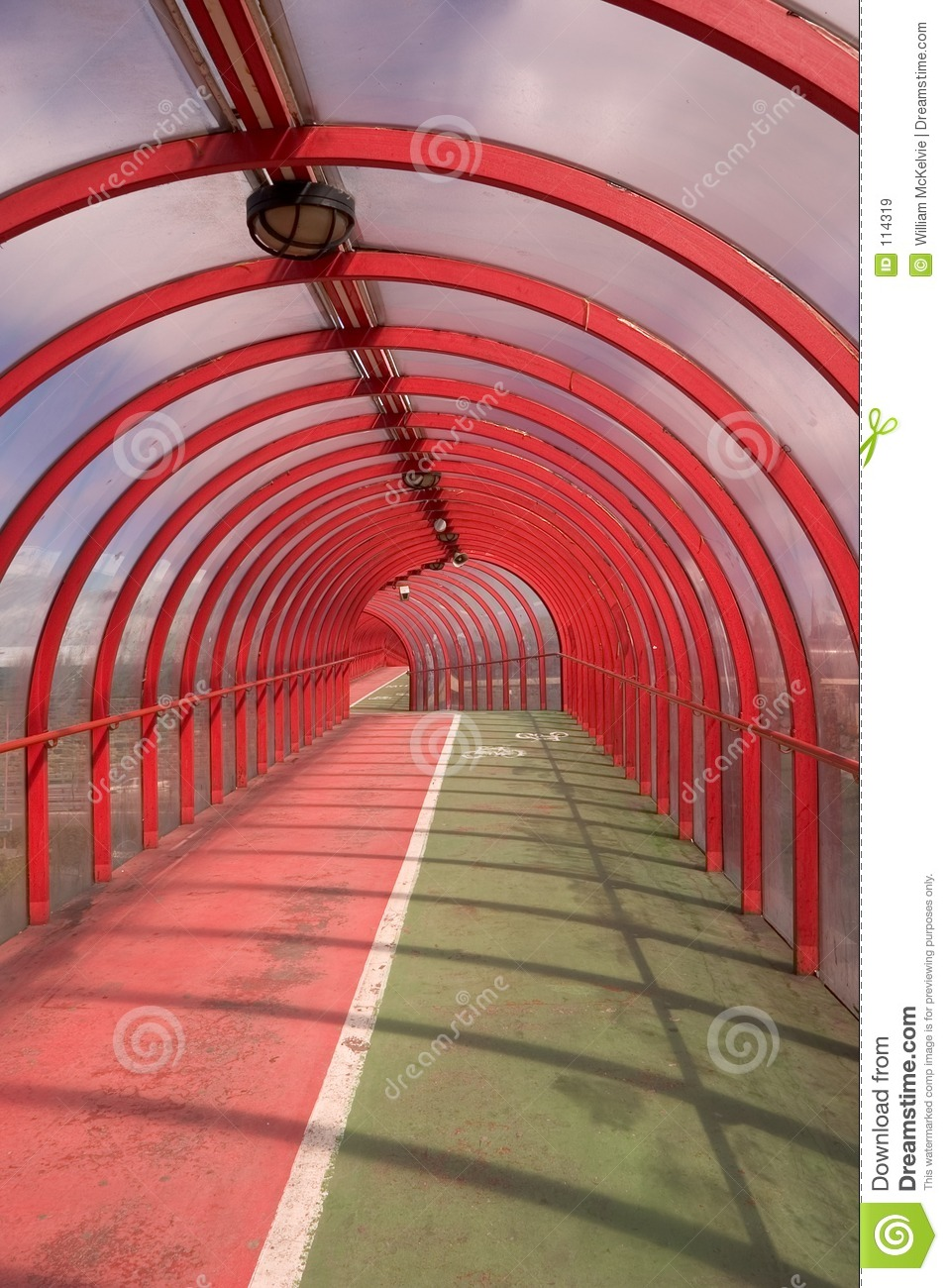 Red Tunnel 1