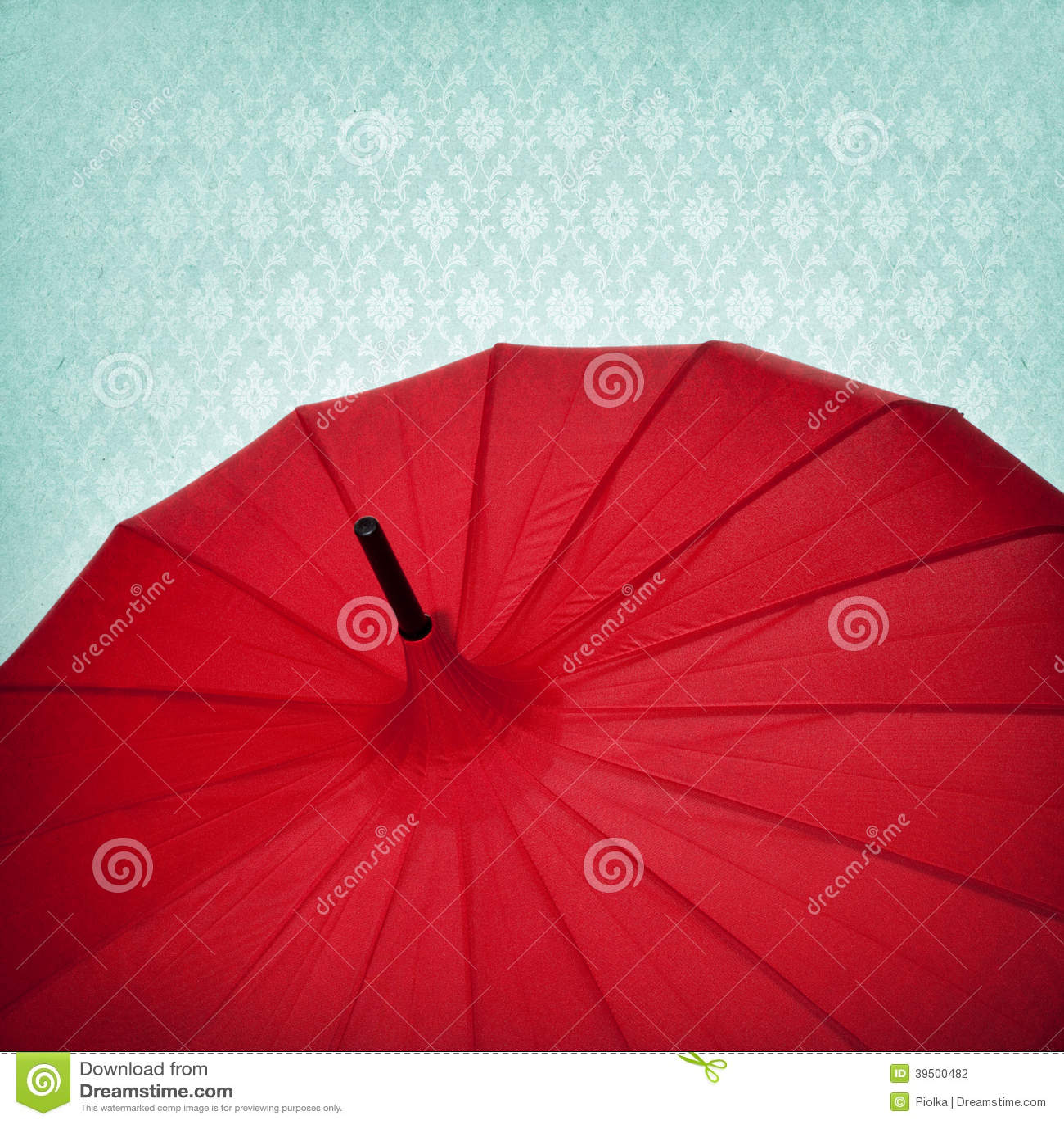 Red Umbrella Background