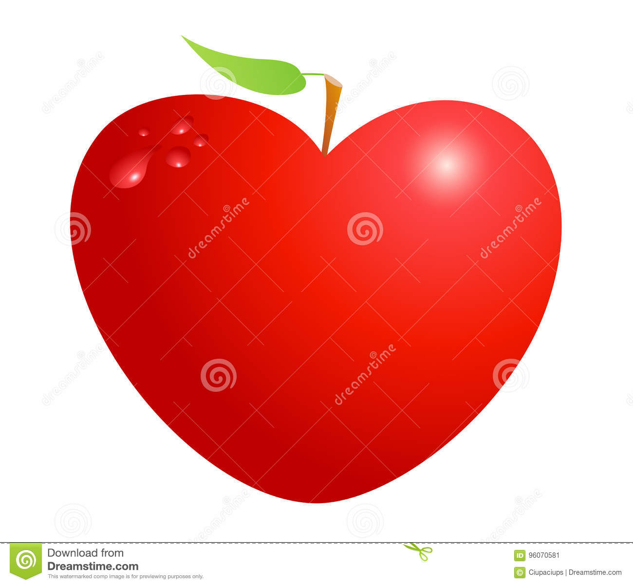 Red valentine heart apple isolated on white background symbol of red valentine heart apple isolated on white background symbol of love life health and friendship biocorpaavc