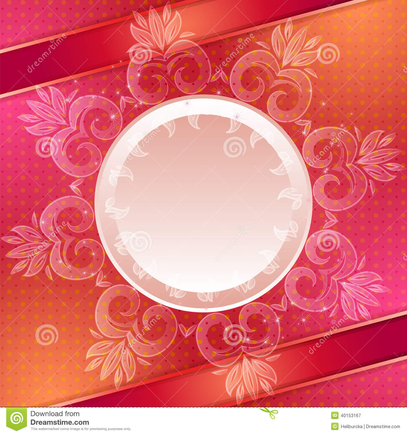 Red Vector Abstract Background Stock Vector - Image: 40153167