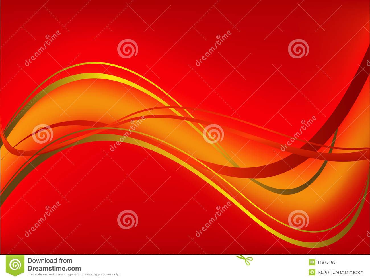 Red gift bows border with clipping path for easy background removing - Red Vector Background Royalty Free Stock Photos
