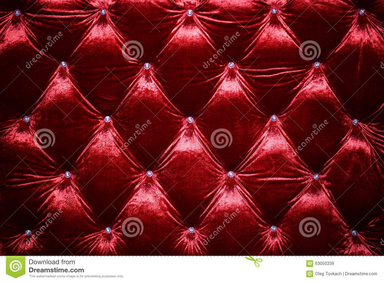 Red Velvet Background Close Up Stock Image Image Of Pattern