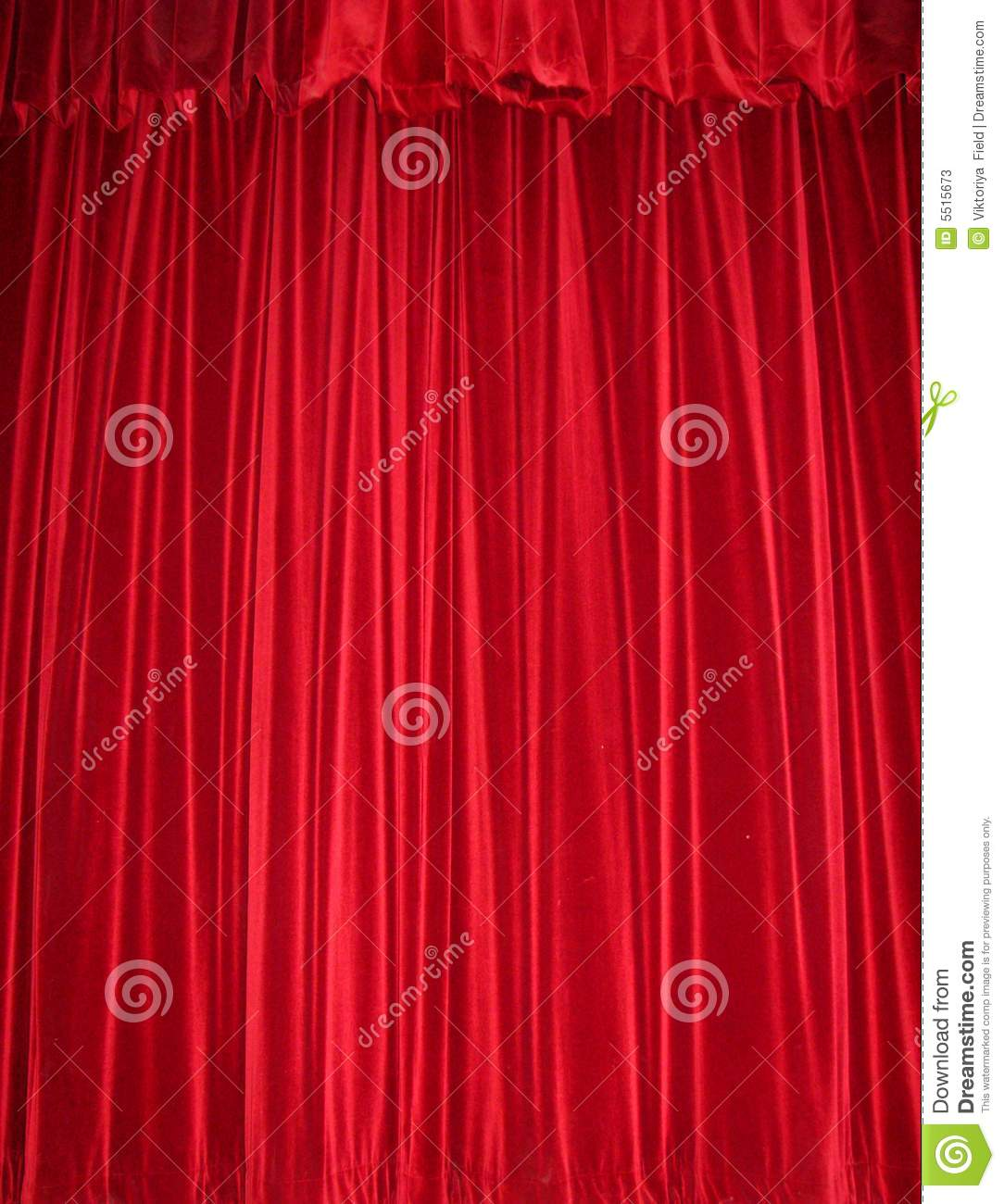 Red Velvet Curtain Stock Photos - Image: 5515673