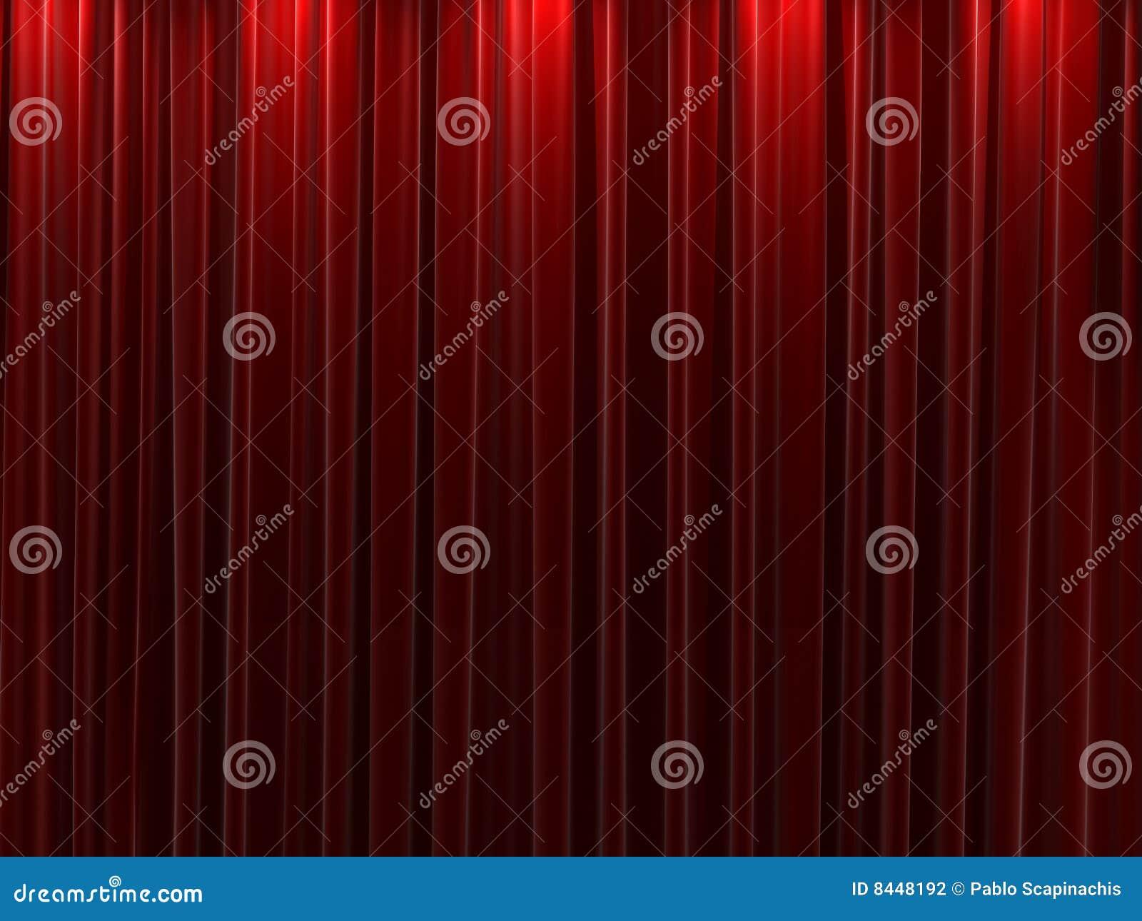 Red velvet curtains background stock photography image for Velvet curtains background