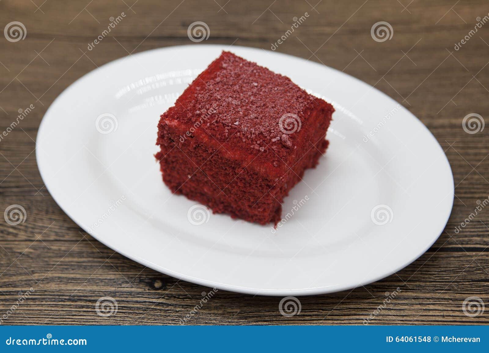 Healthy Low Calorie Red Velvet Cake